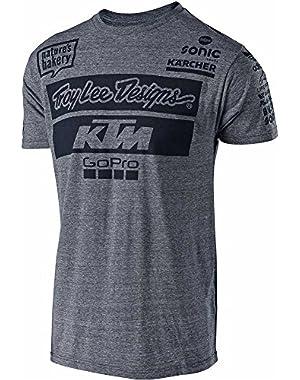 Mens 2017 KTM Team LIC Short-Sleeve Shirt