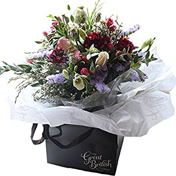 Mary Elizabeth Vintage Posy Country Bouquet From The Great British