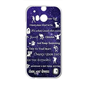 Purple design Chasing your dream motto Cell Phone Case for LG G2