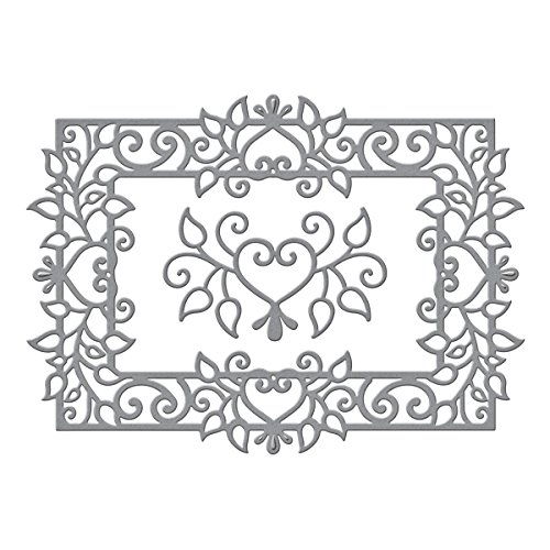 - Spellbinders Shapeabilities Leaf Frame Timeless Heart Collection Etched/Wafer Thin Dies
