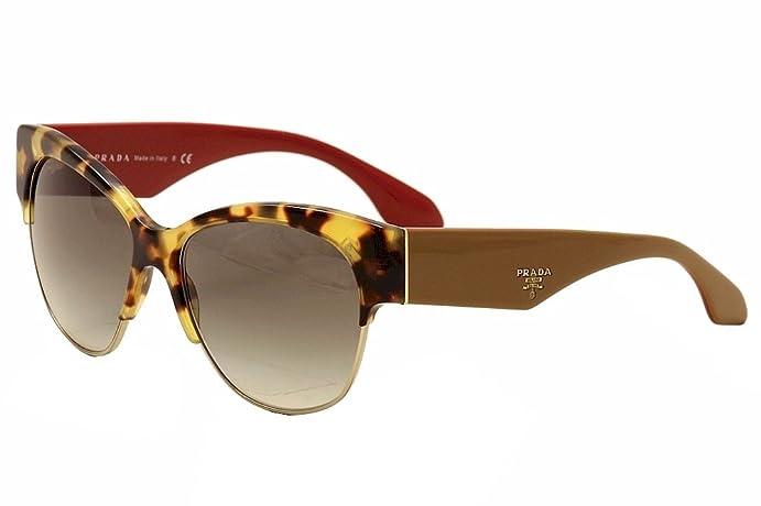 cf2e2f6db2 Amazon.com  Prada PR11RS Sunglasses 7S00A7-56 - Medium Havana Frame ...