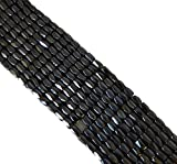 5x8mm Faceted Hematite Beads 74 Inches of Loose Strand Approx 250 Beads