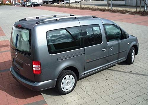Roof Rails for VW Caddy Maxi III//IV from 2007 in Chrome Look with T/ÜV and ABE