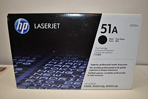 Hewlett Packard HP 51A LaserJet M3027 MFP, M3035 MFP, P3005 Series Smart Print Cartridge (6,500 Yield) , Part Number Q7551A
