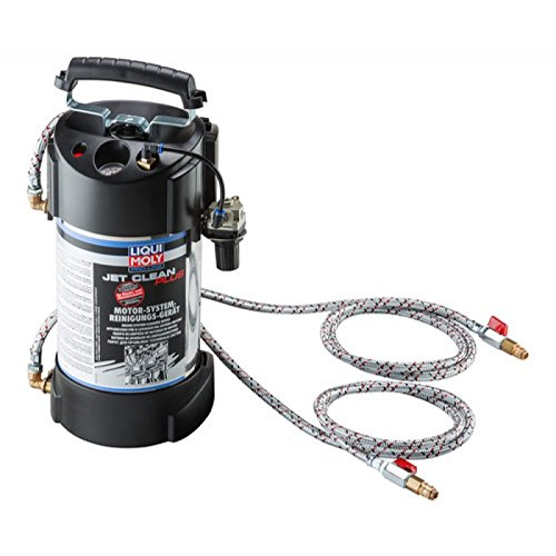 Liqui Moly JetClean Plus 5118 Fuel Injection Cleaning System with Universal Adapter Kit