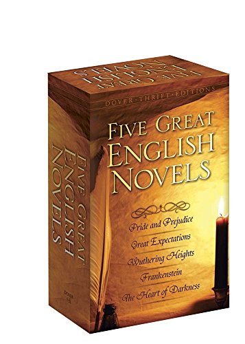 Five Great English Novels Boxed Set (Dover Thrift Editions) (Lauren Collection Conrad)