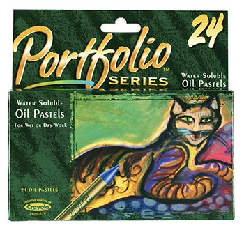 Water Soluble Oil Pastels 24 Ct Portfolio Series -- Case of 4 by Crayola