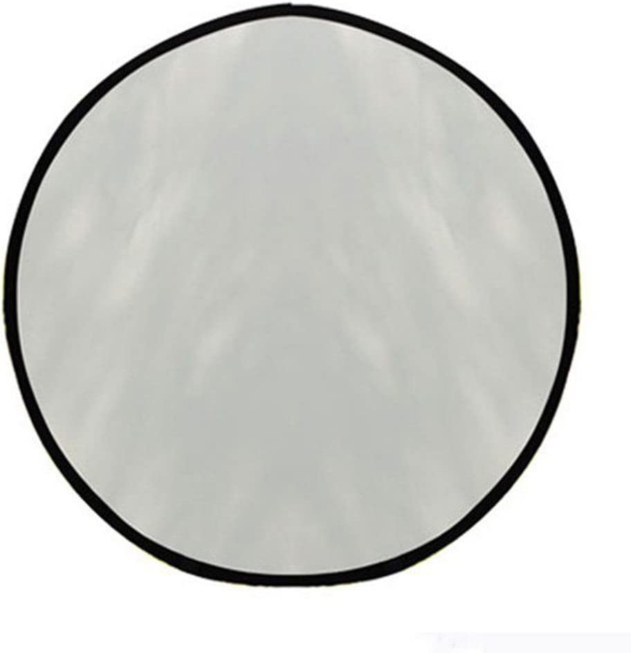 Market/&YCY 90x120cm // 36x48 5 in 1 Round Multilayer Foldable Light Reflector for Studio or Outdoor Photography: Translucent White and Black Silver Gold