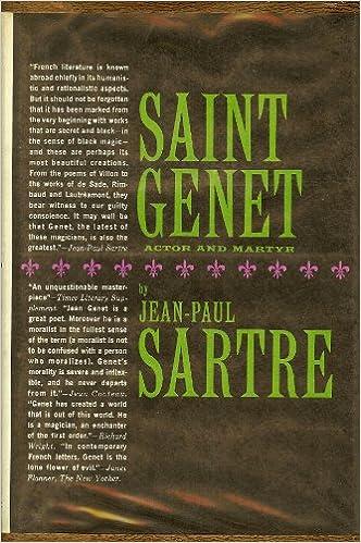 Saint Genet: Actor & Martyr
