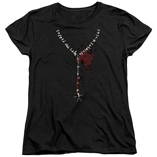 T shirt American Story Femme Noir Horror Acqa4WEn