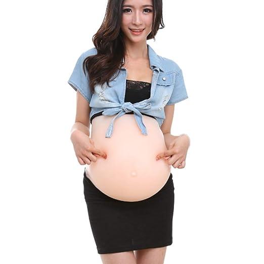 Falso vientre de silicona falsa embarazada, barriga de simulación ...