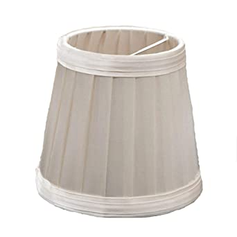 Gaddrt - Pantalla para lámpara de mesa (110 mm, plisada), diseño ...