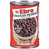 El Ebro Black Beans (2 X 15 Oz)