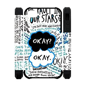 New the unique The Fault In Our Stars Case for Iphone 4S/4 Dual-Protect Polymer Cases