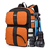 YAAGLE Oxford Multi-functional Waterproof Gadget Camera Bag Professional Gear Photography Travel Backpack