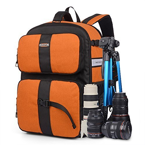 YAAGLE Oxford Multi-functional Waterproof Gadget Camera Bag Professional Gear Photography Travel Backpack by YAAGLE