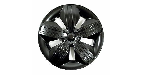 [pro.tec] Set de 4 tapacubos de aumento negros 13 - 4 unidades - universal - para todas las llantas de acero - Diseño deportivo: Amazon.es: Coche y moto