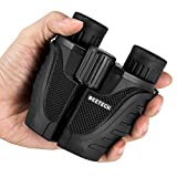 Deeteck 10x25 Folding Compact Binocular With BAK4 Wide Angle Waterproof Weak Light Night Vision Binoculars For Bird watching/Outdoor Activities/Climbing Suitable For Kids And Adults
