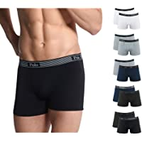 Kit com 10 Cuecas Boxer Cotton, Polo Match, Masculino, ,