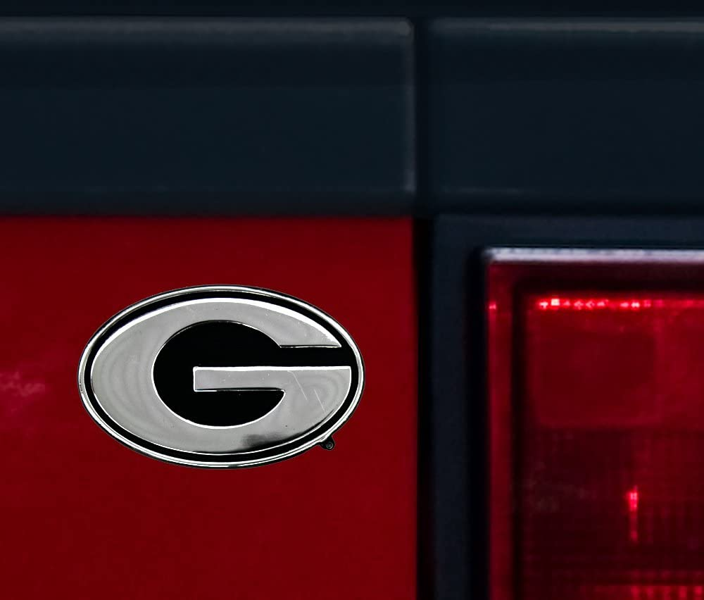 NCAA Georgia Bulldogs Chrome Auto Emblem