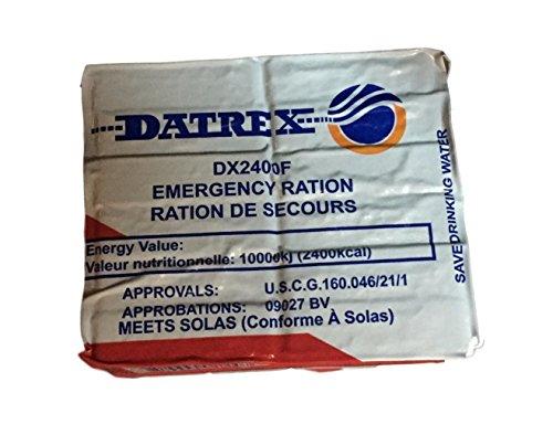 Datrex Emergency Survival 2400 Calorie Food Ration Bar, 12 Bars