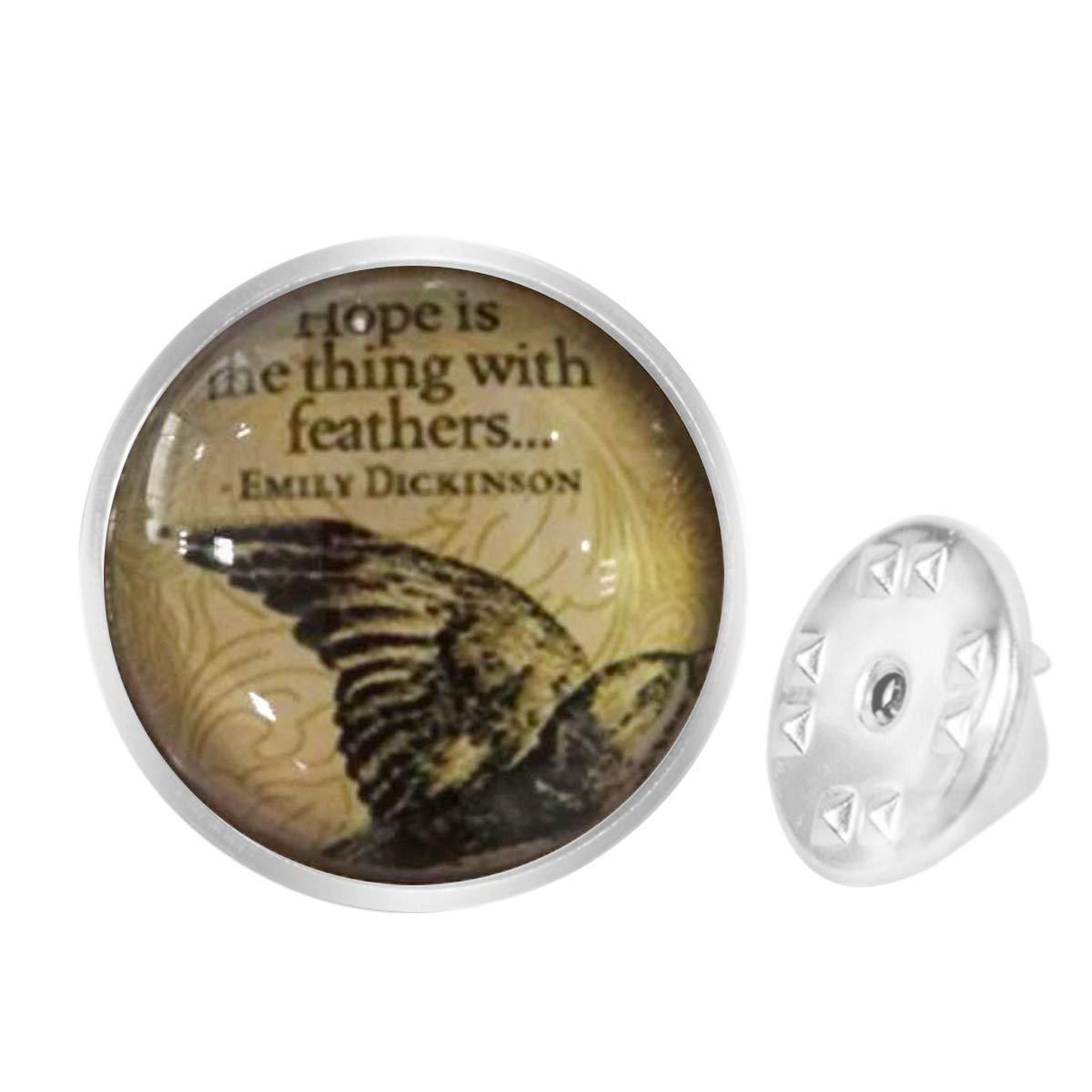 Amazon com: Custom Lapel Pin Brooches Hoffnung Ist Das Ding