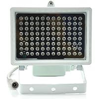 Aweek® 96 Leds IR Illuminators Light IR Infrared Light LED infrared light CCTV Camera Night-vision Fill Light for CCTV Security Camera, Standard 45° Level Angle Visual Range