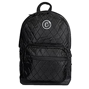 16. Cookies Men's V2 1680 Quilted Black Nylon Backpack