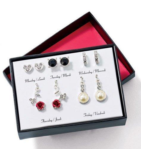 Avon Eternal Spring 5-Pair Earring Set