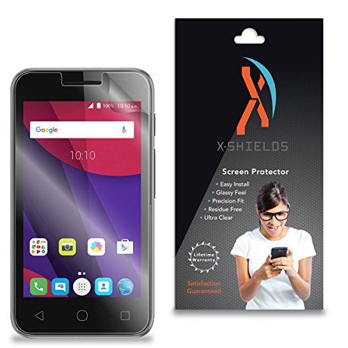 XShields High Definition (HD+) Screen Protectors for Alcatel Onetouch Lume (Maximum Clarity) Super Easy Installation [5-Pack], Advanced Touchscreen - Lume Hd