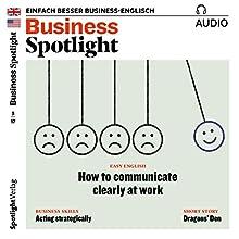 Business Spotlight Audio - Acting strategically. 5/2017: Business Englisch lernen - Strategisch handeln Hörbuch von  div. Gesprochen von:  div.