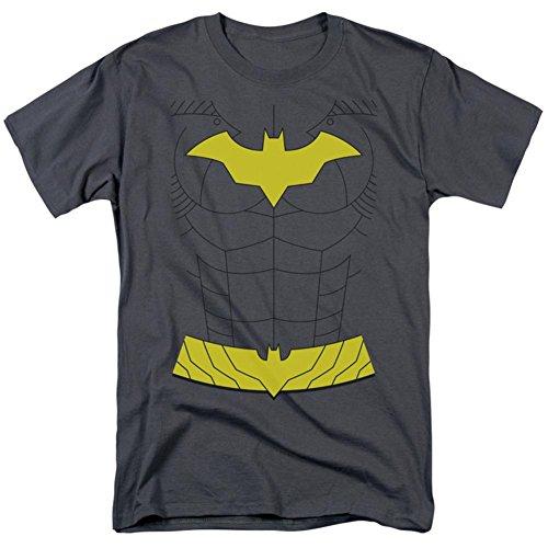 Batman Men's New Batgirl Costume Classic T-shirt Large Charcoal]()