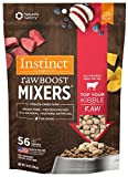 Instinct Freeze Dried Raw Boost Mixers Grain Free All Natural Beef Recipe Dog Food Topper by Nature's Variety, 14 oz. Bag