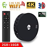 TV Box R10 2GB + 16GB Dual WIFI Android 7.1 TV Box, bluetooth 4.1 Smart TV Box Support Dual Channel Wifi 2T2R Connected 3D 4K HDR Android Box