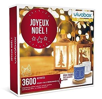 ActivitésSoinsRepasSport…2 Joyeux3600 Noel Cadeau Coffret Tasses Vivabox yvm8wOnN0