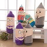 Creative cartoon spoof boiled eggs egg plush toys wedding wedding dolls children's day gifts , 27 cm
