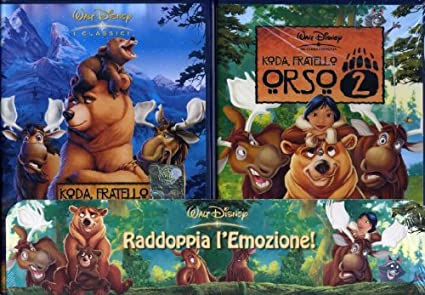 Koda fratello orso 1 2: amazon.it: vari registi: film e tv