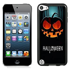 Lovely and Durable Cell Phone Case Design with Halloween Pumpkin Illustration iPod Touch 5 Wallpaper Kimberly Kurzendoerfer