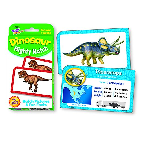 TREND enterprises, Inc. Dinosaur Mighty Match Challenge Cards