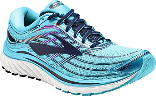 Brooks Glycerin 15, Chaussures De Gymnastique Femme Capri/eveningblue/purplecactusflower