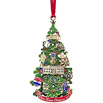 Amazoncom ChemArt White House 2015 Ornament Home  Kitchen