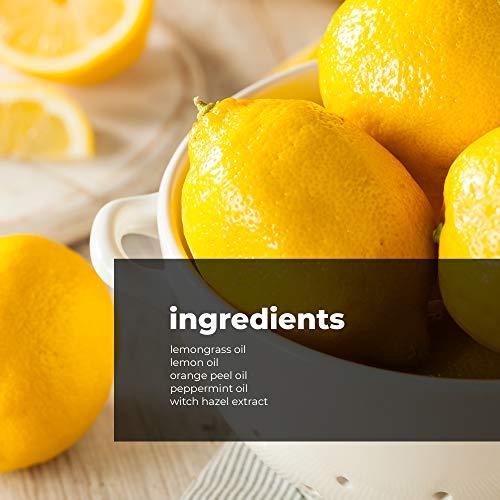 TreeActiv Aromatherapy Room Spray Air Freshener | Citrus Mint Home & Office Deodorizer | Orange & Lemon Odor Eliminator & Neutralizer | Fragrant Mist with Lemongrass & Witch Hazel | 1000+ Sprays