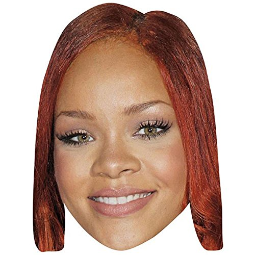 Rihanna Celebrity Mask, Card Face and Fancy Dress Mask