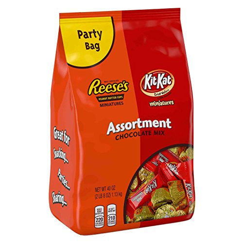 (Hershey's Kit Kat/Reese Assorted Miniatures-40 oz)