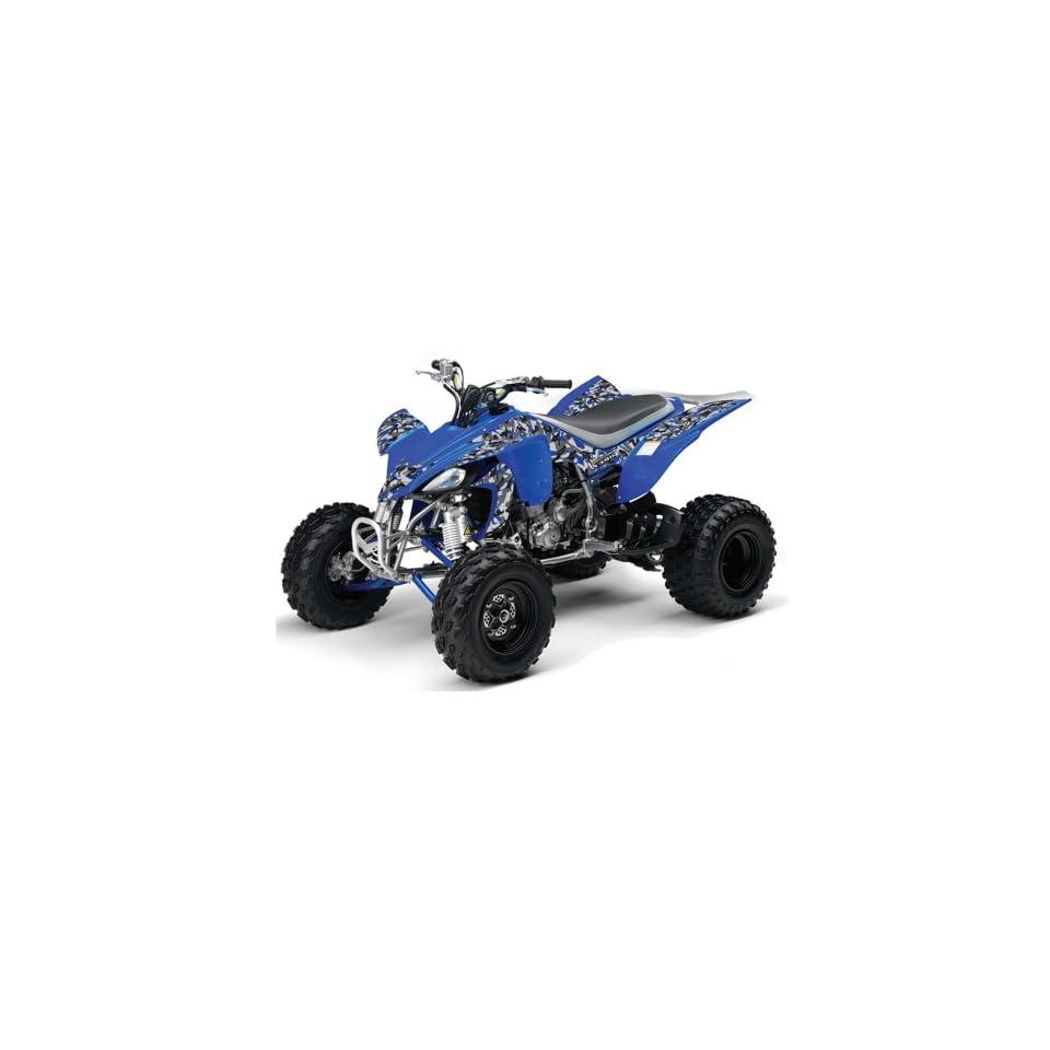AMR Racing 2004 2008 Yamaha YFZ 450 ATV Quad, Graphic Kit   Urban Camo Blue