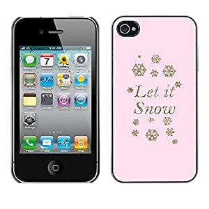 Design Hard ShellSnow Snowflake Pink Winter X-Mas For Samsung Galaxy S5 Mini Case Cover