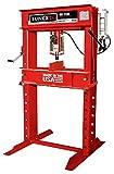 Sunex 5740 Manual Hydraulic Shop Press, 40-Ton, Red