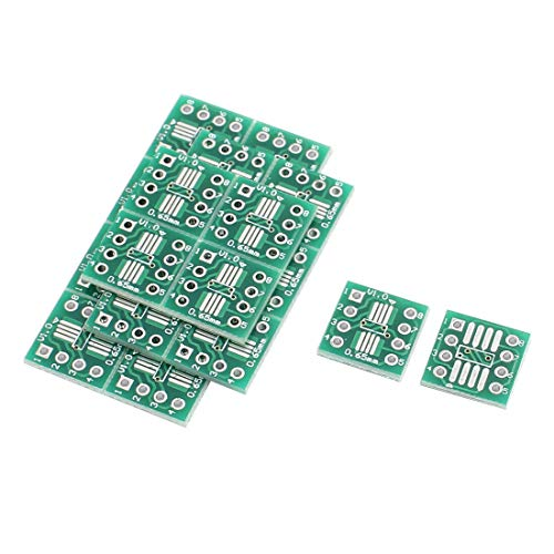 SODIAL 20Pcs Sop8 So8 Soic8 to Dip8 Interposer Board PCB Board Adapter Plate by SODIAL (Image #1)