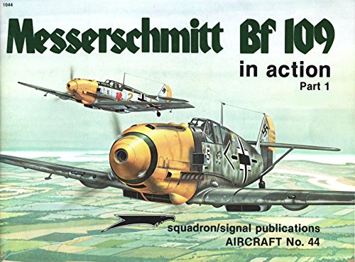 Messerschmitt Bf 109 in Action, Part 1 - Aircraft No. 44