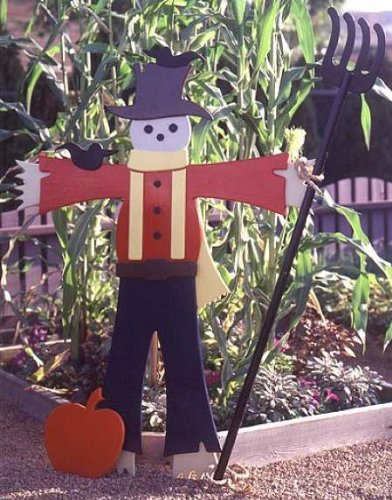 - A Woodworking Pattern and Instructions Pkg to Build Your Own Easy Going Scarecrow